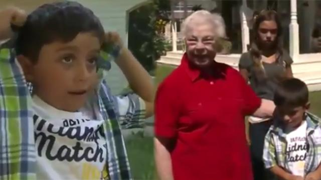 6-year-old notices neighbor acting strangely and instantly jumps into action