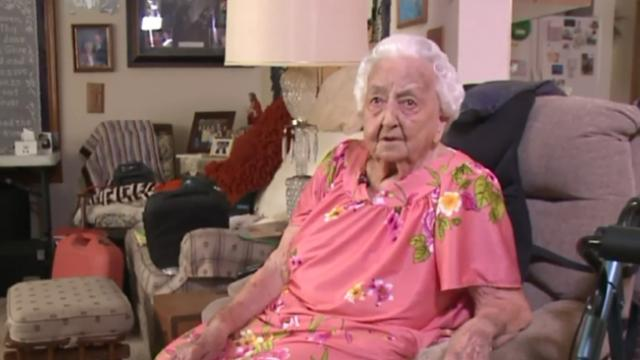 100-Year-old woman has been crocheting since age 12, gives every dime of her proceeds away