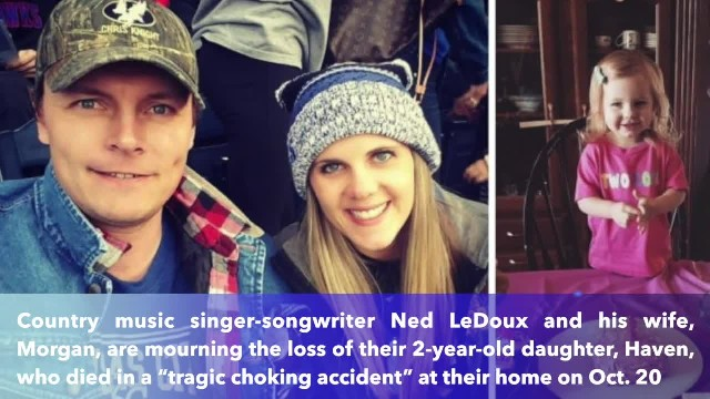 Country singer Ned LeDoux's daughter died in choking accident