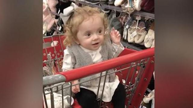 Sassy toddler has hilarious comeback to grandma when she tries to put shoes on her