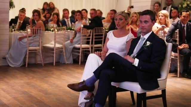 Bride who loves 'Little Mermaid' is left speechless when she hears Ariel's voice at wedding