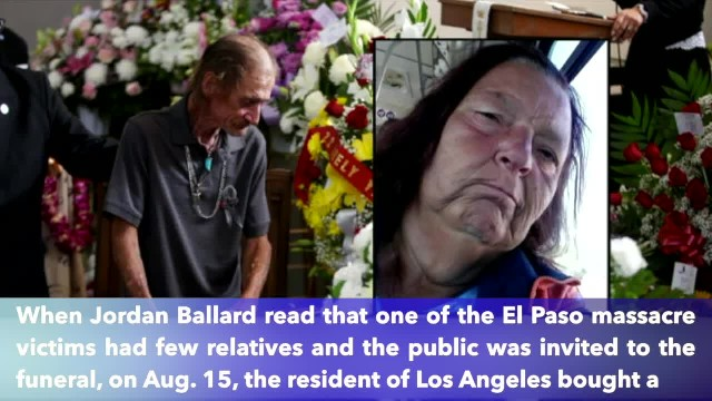 Hundreds arrive at the funeral of El Paso's victim after partner feared few would