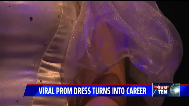Teen can't buy dream dress, so her prom date teaches himself how to make it from scratch.