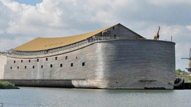 He spent $1.6m to build this life-sized replica of Noah's ark. Now he's asking for your help