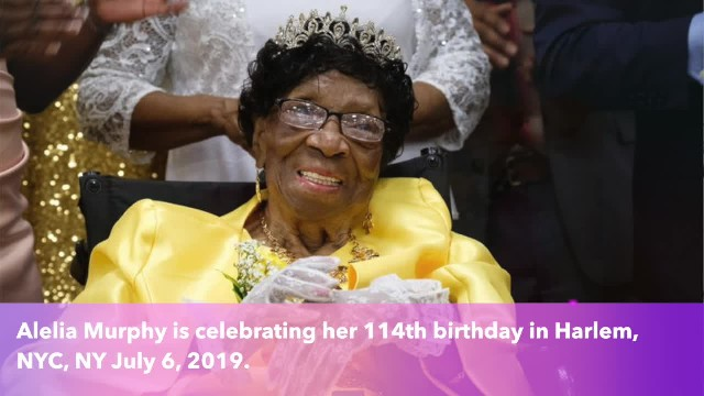 The 114-year-old woman believed to be the oldest living American!!