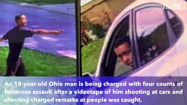 'I don't like white people in my hood,' gunman caught in video firing shots at four people