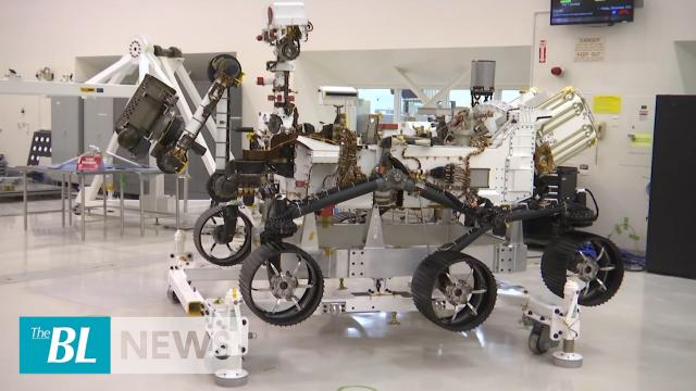 NASA shows off Mars 2020 rover progress