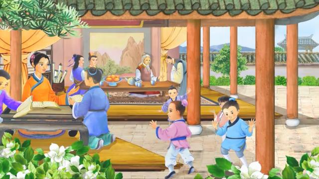 The prolific filial piety of Wu Meng