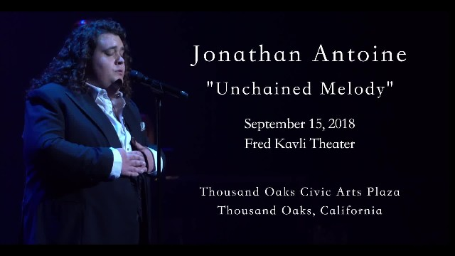 Everyone's eyes brimmed over at Jonathan Antoine's angelic rendition of unchained melody