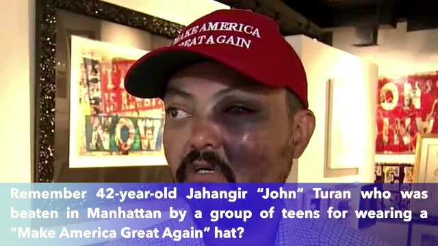 Trump Responds To Gallery Owner Attacked For Wearing MAGA Hat In Manhattan
