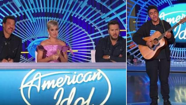 Idol judge knows he's 'in the presence of greatness' after hearing dishwasher's original song
