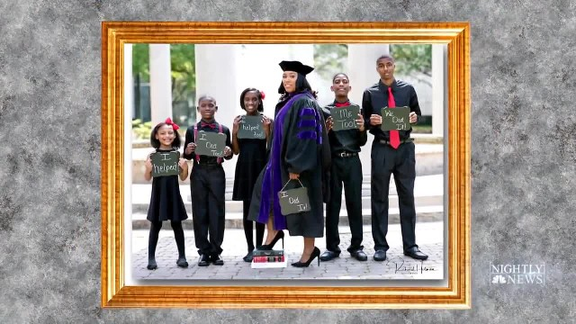 Texas mom of 5 graduates from law school after she 'destroyed' the odds stacked against her