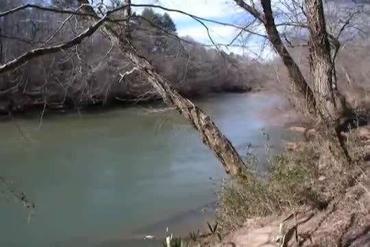 Man Finds Fascinating Native American Trail Marker Along Chattahoochee River