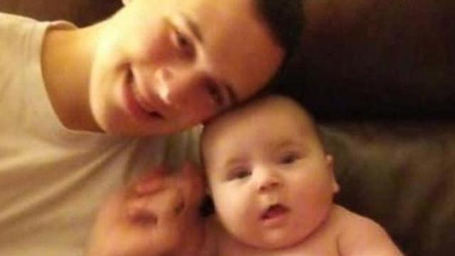 Soldier home for Christmas and his 1-year-old son killed in head-on collision