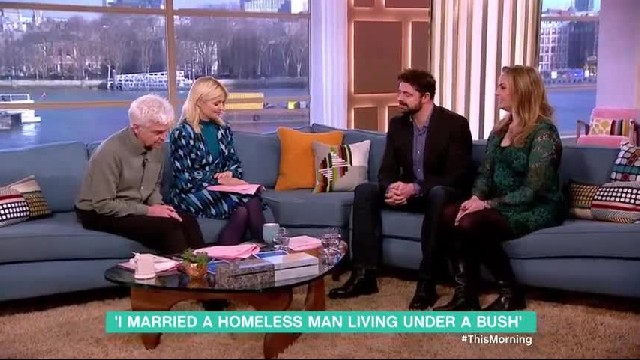 'I was 30, single, with a successful career when I fell in love with a homeless man'