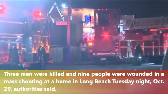 Long Beach mass shooting, 3 killed, 9 wounded by gunfire at home