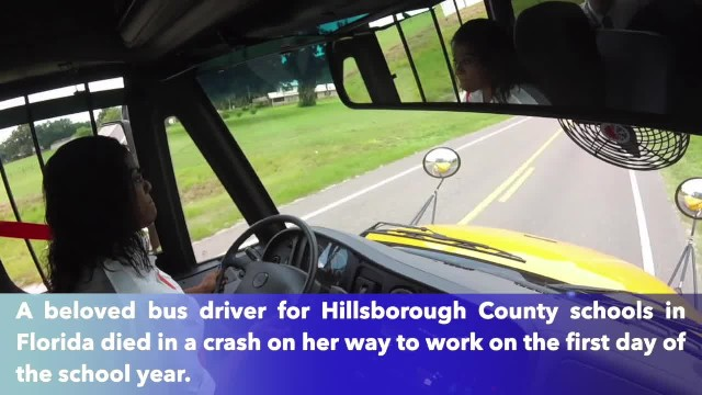 Longtime Hillsborough County bus driver dies in crash on first day of school
