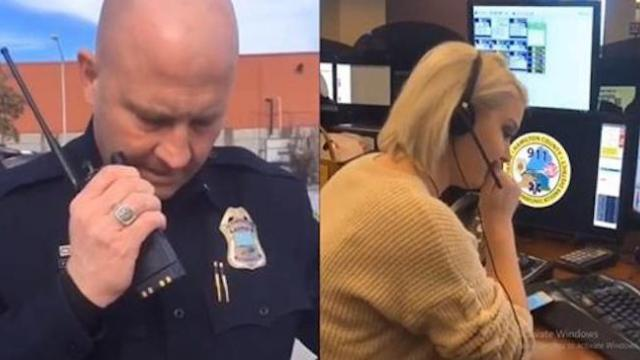 Tennessee police officer shares heartbreaking final call with dispatcher daughter before retirement