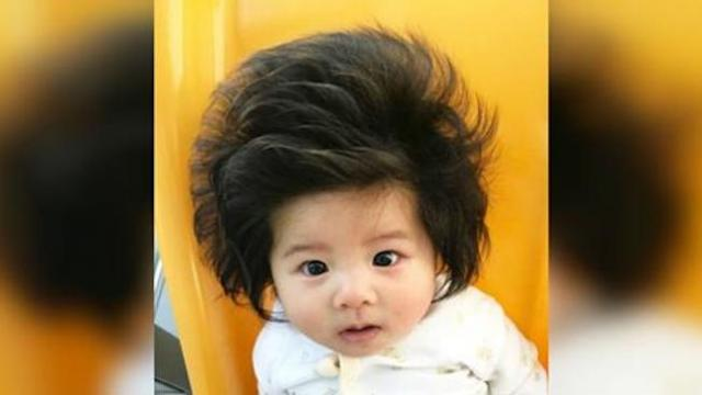 The baby who became famous for her fabulous hair just landed a Pantene ad campaign