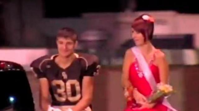 Teen is voted homecoming queen only to see it's a nasty joke before turning tables on bullies