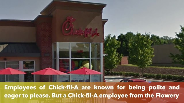 Chick-fil-A worker leaps through drive-thru window, saves choking young boy