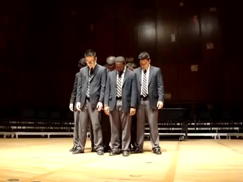 Group of boys starts to sing queen classic, but then crowd erupts in fit of laughter