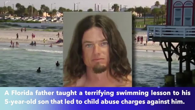 Father throws 5-year-old son in Atlantic Ocean