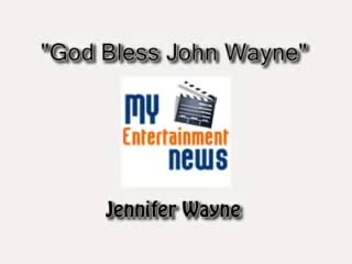 John Wayne's granddaughter performs heartfelt tribute, 'God bless John Wayne'