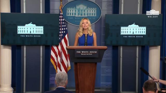 09/03/20 Press secretary Kayleigh McEnany holds a press briefing