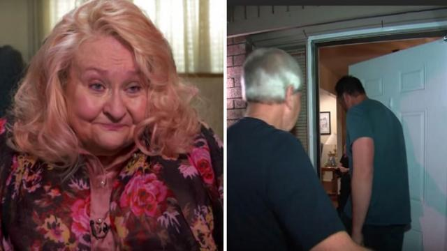 For the past 10 years, men line up to visit her bedroom every night and neighbors applaud them