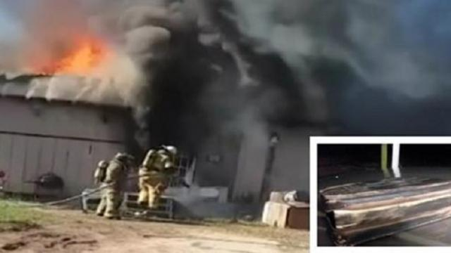 Firefighter moved to tears after man's bible survives house fire: 'It was a miracle'