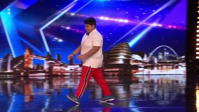 After teacher said he was too fat to dance, hilarious teen wins Golden Buzzer