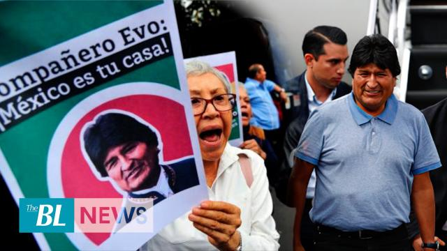 Evo Morales takes refuge in Mexico