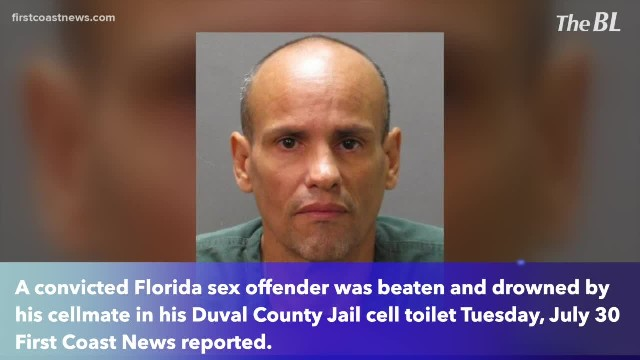 Florida sex offender beaten, drowned in Duval County jail cell toilet