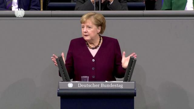 Merkel says vaccines could arrive before Christmas