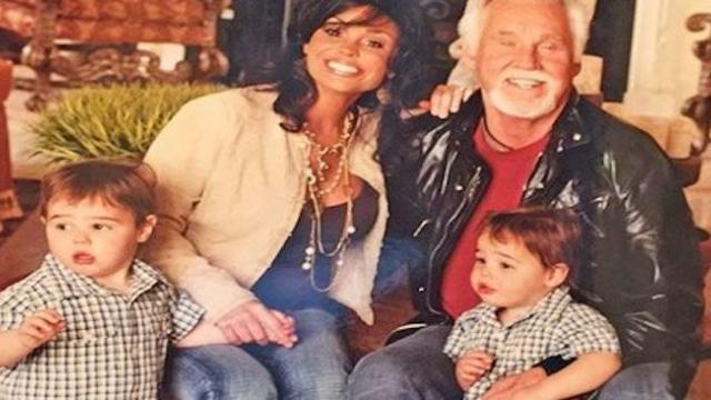 Kenny Rogers' latest photo shows his twin boys all grown up