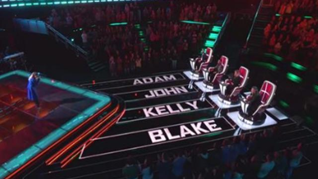 Haunting voice takes over stage just as all four judges slam