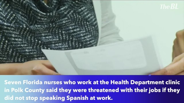 Florida nurses say they were threatened to be fired for speaking Spanish
