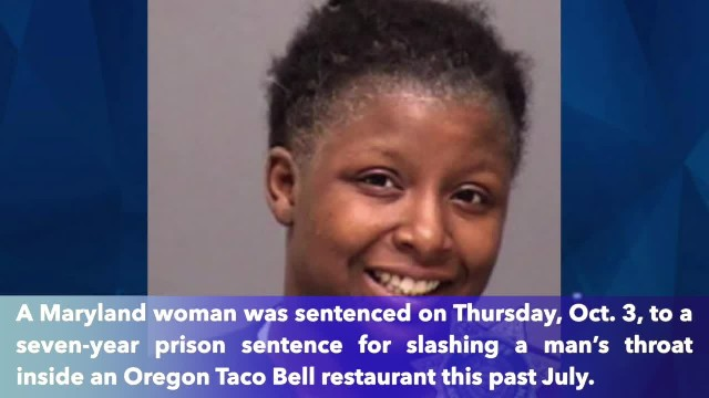 2 children wait in car as mother walks in Taco Bell, slashes stranger's throat over minor dispute