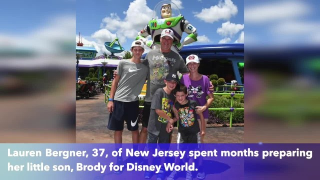 Snow White soothes 6-year-old autistic boy at Epcot Theme Park