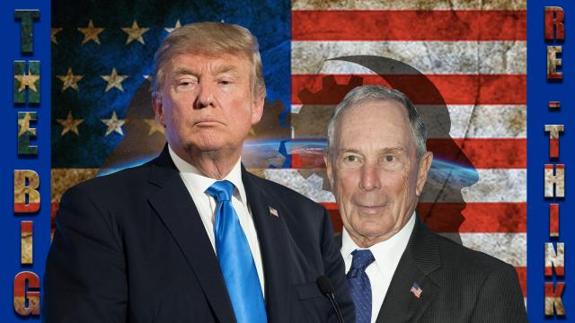 Bloomberg Vs Trump – Trump - promises made promises kept - Bloomberg - bashes Trump – how original