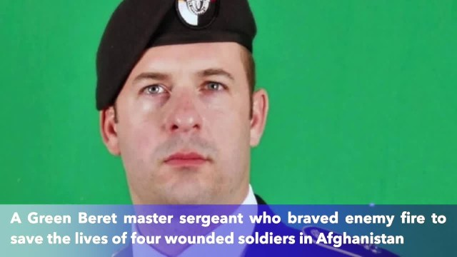 Green Beret upgraded to the Medal of Honor for saving 4 wounded soldiers in Afghanistan