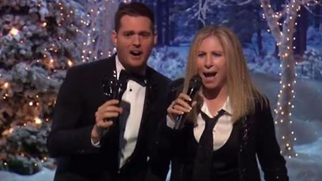 Barbra Streisand & Michael Bublé team up for a heavenly Sinatra duet.
