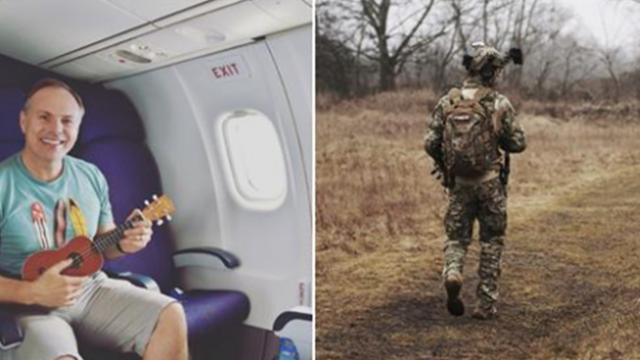 Travel blogger gives up first-class seat to soldier, then 6 years later receives anonymous note
