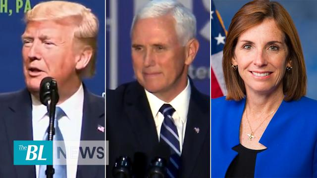 Trump Pence McSally say it's time for Pelosi to move on USMCA