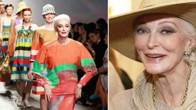 Eighty-seven-year-old fashion model Carmen Dell'Orefice shares super-simple skincare tips