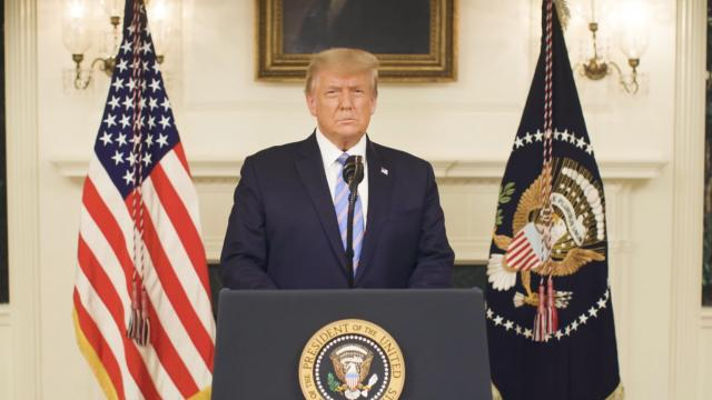 A message from President Donald J. Trump