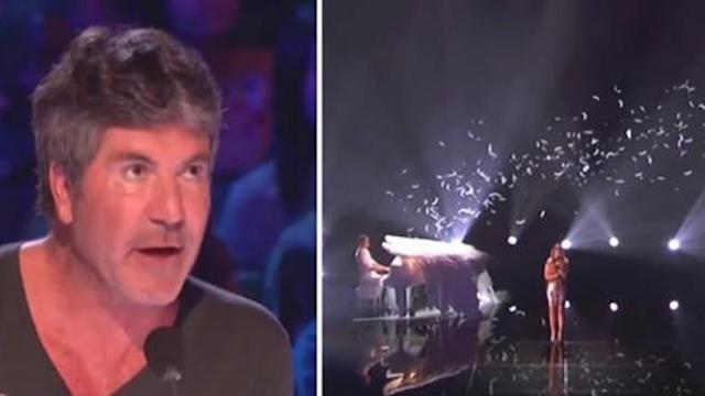 Shaking like a leaf first ever AGT winner takes stage chilling crowd to bone when 'new' voice emerge