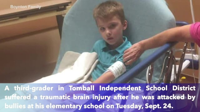 Tomball ISD student treated for brain injury after being attacked by bullies at elementary school