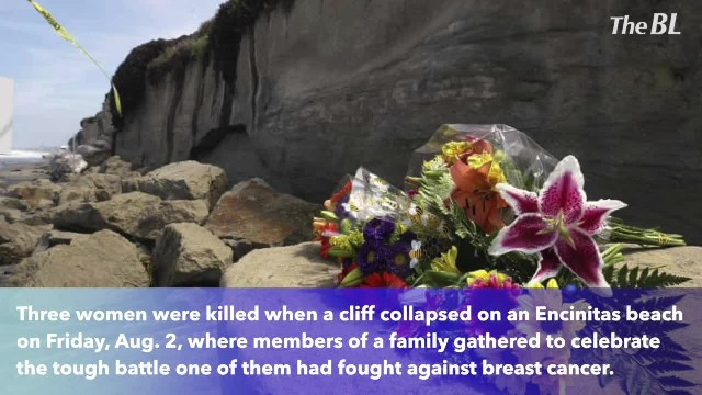3 women killed in Encinitas cliff collapses were family members celebrating aunt breast cancer victo